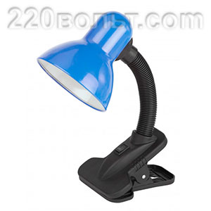 108 B настольная лампа с прищепкой