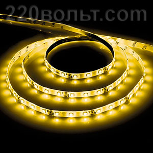 Лента LED LS603 желтая Feron