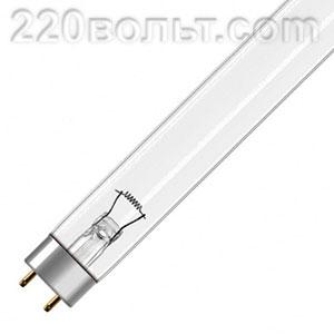 Лампа бактерицидная 15w T8 Delux
