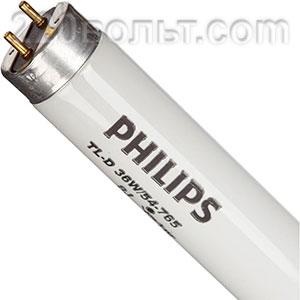 Лампа ЛД 36w T8 Philips