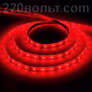Лента LED LS604 IP-65 красная Feron