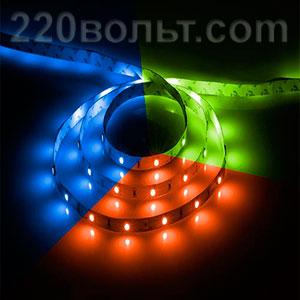 Лента LED LS606 30SMD RGB Feron