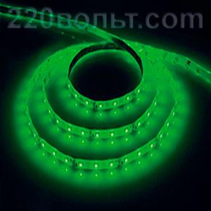 Лента LED LS604 IP-65 зеленая Feron