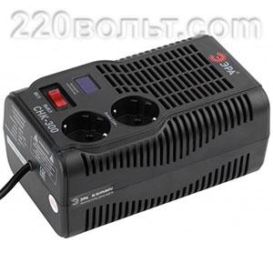 Стабилизатор напряжения СНК- 300 компакт 160-260В 300 ВА ЭРА