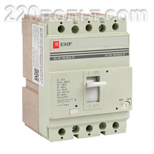 Автоматический выключатель ВА-99 160