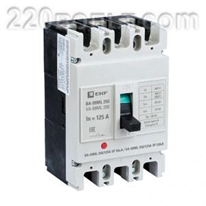 Автоматический выключатель ВА-99МL 250