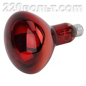 Лампа инфракрасная ЭРА ИКЗК 220-250 R127 250Вт Е27