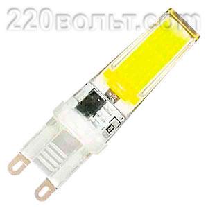 Лампа светодиодная LED G9 5w 220v 4000K