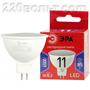 Лампа светодиодная ЭРА R LED MR16-11W-865-GU5.3 R