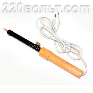 Паяльник с деревянной рукояткой ЭПСН PL-R01-40W ЭРА
