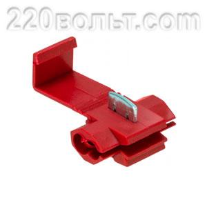 Ответвитель прокалывающий ОВ-1 0.5-1.5 мм2 красный EKF PROxima