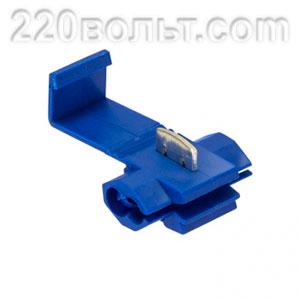 Ответвитель прокалывающий ОВ-2 1.0-2.5 мм2 синий EKF PROxima