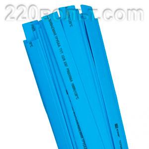 Термоусаживаемая трубка ТУТ синяя EKF PROxima