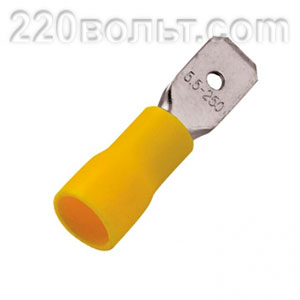 Разъем плоский РпИп 5-6-0.8 EKF