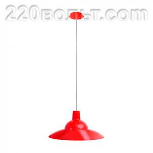 Светильник ERKA 1305 потолочный 60w красный Е27