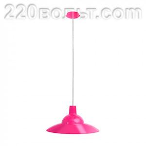 Светильник ERKA 1305 потолочный 60w розовый Е27