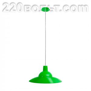 Светильник ERKA 1305 потолочный 60w салатовый Е27