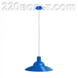 Светильник ERKA 1305 потолочный 60w синий Е27
