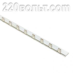 Шина соединительная типа PIN для 1-ф нагрузки 100А EKF