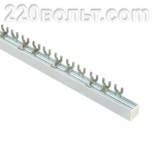 Шина соединительная типа FORK для 3-ф нагр. 100А EKF