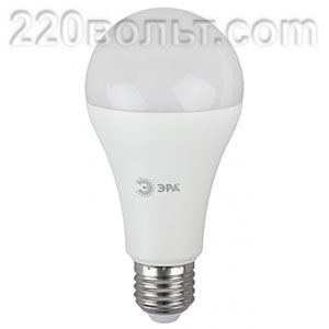 Лампа светодиодная ЭРА LED A60-11W-12/48V-840-E27