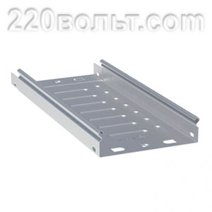 Лоток неперф. металлический 50х300х3000-0.55мм EKF