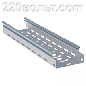 Лоток перф. металлический 35х 50х3000-0.7мм (24м) EKF