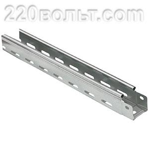 Лоток перф. металлический 50х 50х3000 EKF