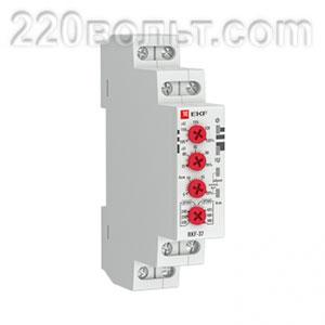 Реле контроля фаз RKF-37 EKF PROxima 380В 1мод