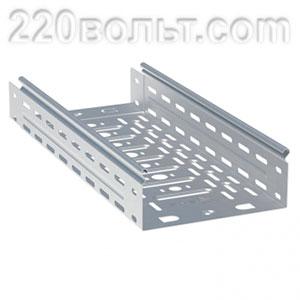 Лоток перф. металлический 100х300х3000-0.8мм (12м) EKF