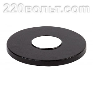 Накладка на стальную опору черная ЭРА