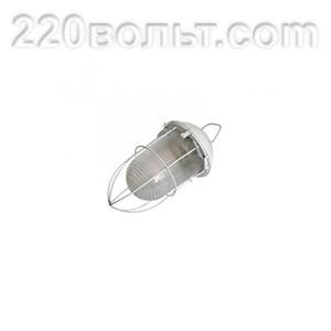 Светильник НСП 02-100-003 с решеткой Желудь сталь / стекло ЭРА